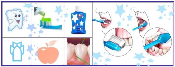 Richtige Putztechnik für die Zähne