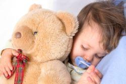 Sanft einschlafen mit Teddy