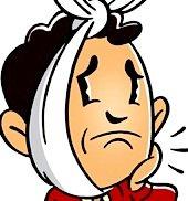 In den ersten 24 Stunden nach der OP sollte man die Wunde von außen kühlen, damit das Gesicht nicht anschwillt.