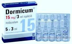 Dormicum bzw. Ketanest ermöglichen eine angstfreie Behandlung