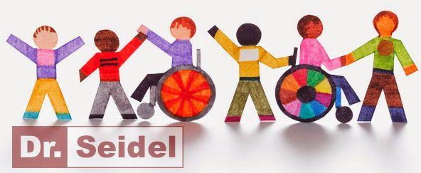 Da in der Praxis Dr. Seidel jeder Patient die gleiche professionelle Behandlung erfährt, können Sie sich oder Ihre Angehörigen mit Behinderungenm gleichermaßen bedenkenlos behandeln lassen.