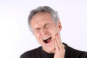 pochende Zahnschmerzen