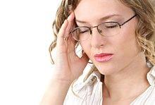 Symptome einer Migräne infolge einer Trigeminusneuralgie