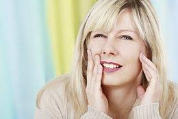 Osteomyelitis des Kieferknochens bei Frau mittleren Alters