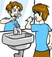 Falsche Zahnputztechnik kann zu Zahnfleischrückgang führen