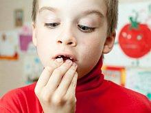 Zahnverlücke in jungen Jahren durch Unfall