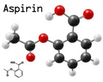 Aspirin gehört zu den Analgetika und kann bei Schmerzen eingenommen werden.